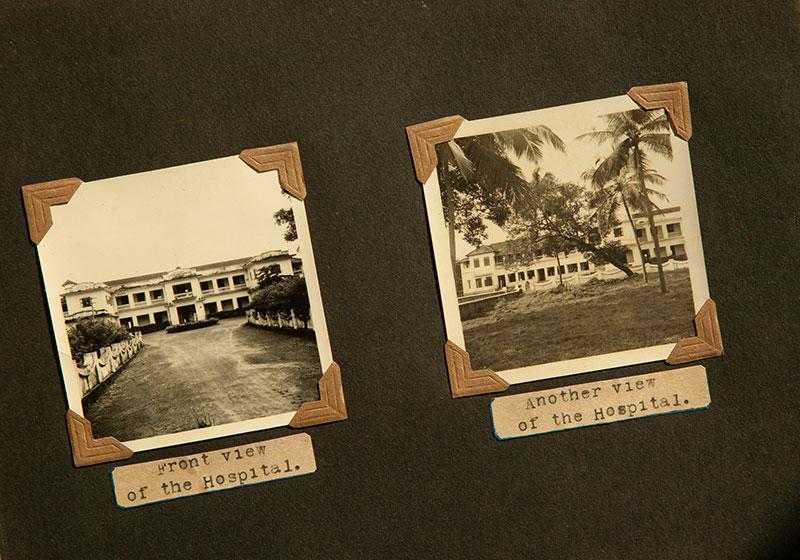 Photos of Jubilee Mission Hospital in the 1950s.